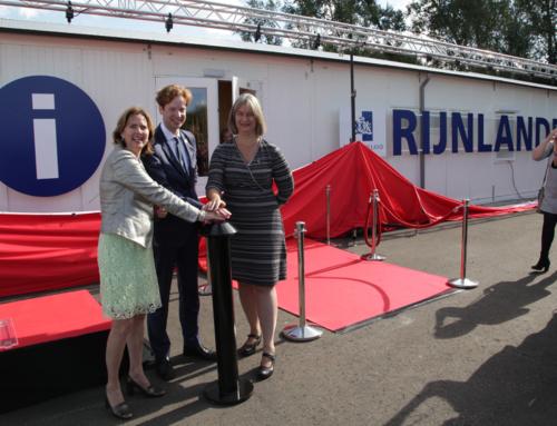 Opening Informatiecentrum RijnlandRoute
