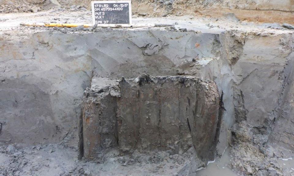 Archeologische opgraving Leiden-West waterput