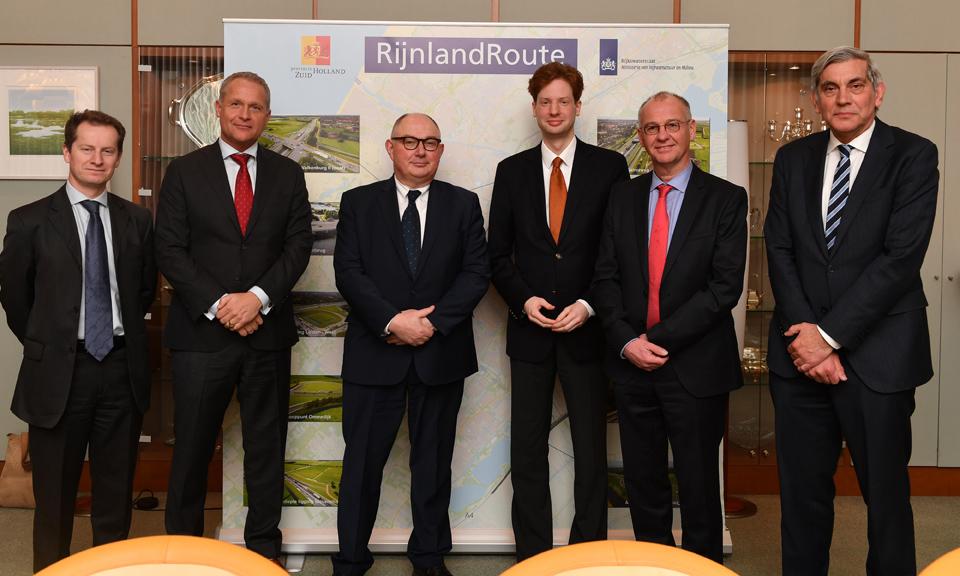 Ondertekening overeenkomst provincie Zuid-Holland en Comol5