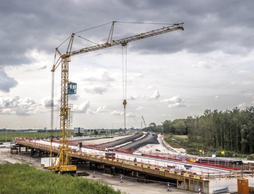 Video: Knooppunt Hofvliet in aanbouw