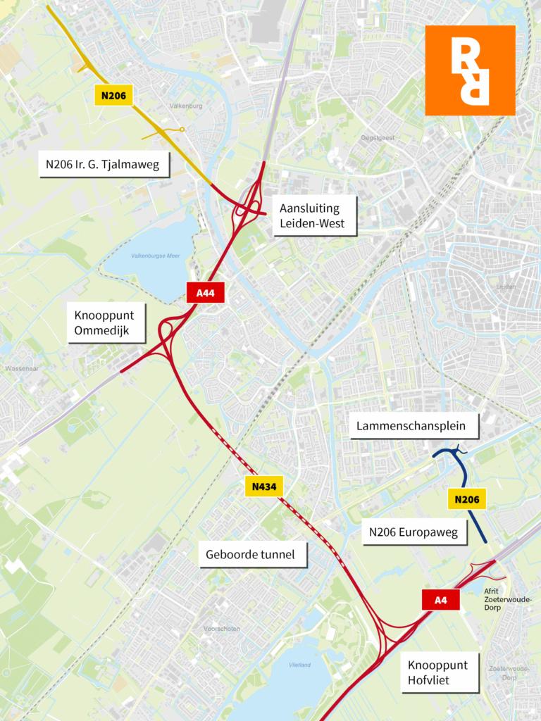 Traject RijnlandRoute