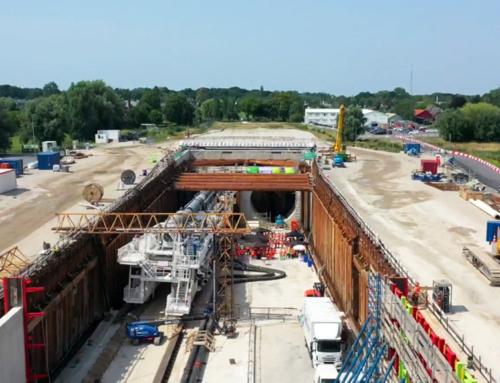 Timelapse video: opbouw tunnelboormachine