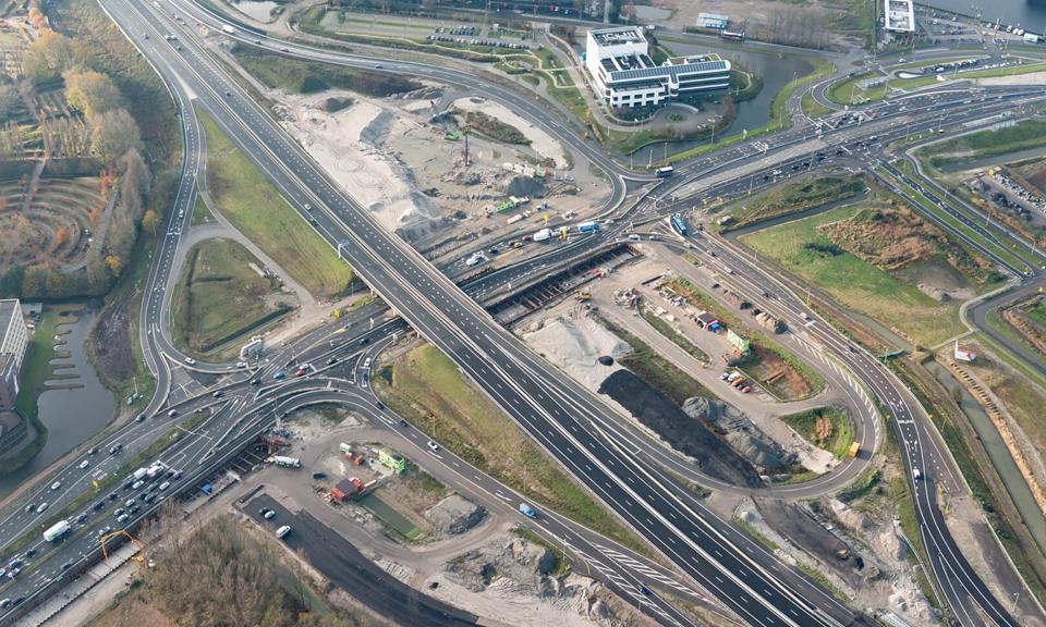 Aansluiting Leiden-West