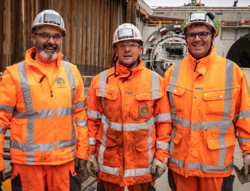 Tunnelbouwers vieren verjaardag Heilige Barbara