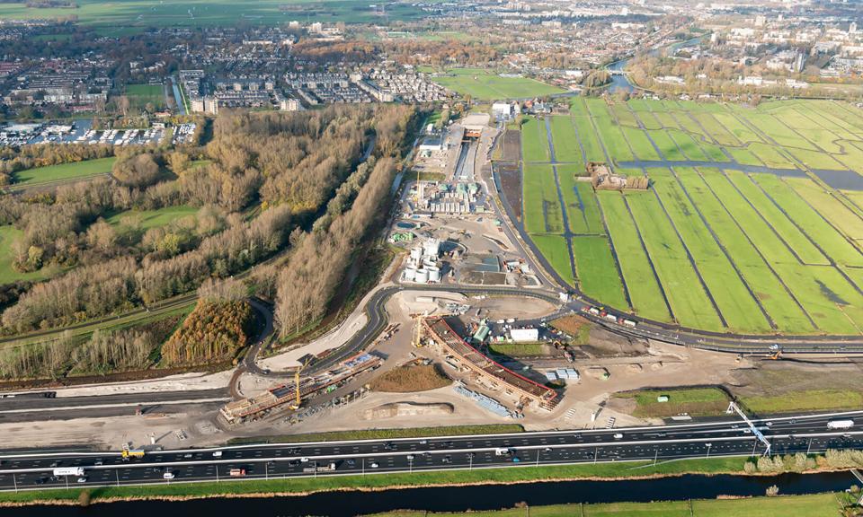 Overzicht van knooppunt Hofvliet