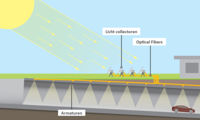 Artist impression Solar Optic Fiber