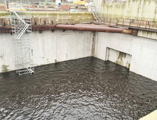Ontvangstschacht klaar voor aankomst tunnelboormachine