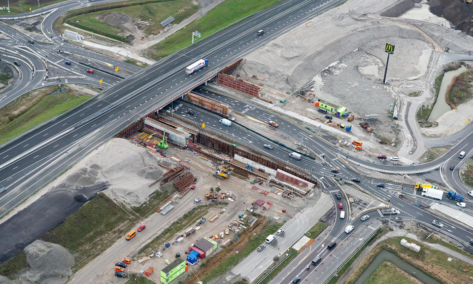 Luchtfoto A44 - Westkant Details