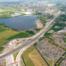 Luchtfoto knooppunt Ommedijk