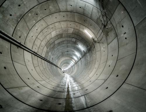 Dronefilm eerste tunnelbuis N434