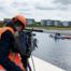 Kano in het aquaduct Veenwatering - Opnames Omroep West