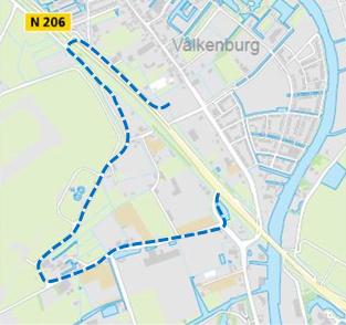Route bouwverkeer