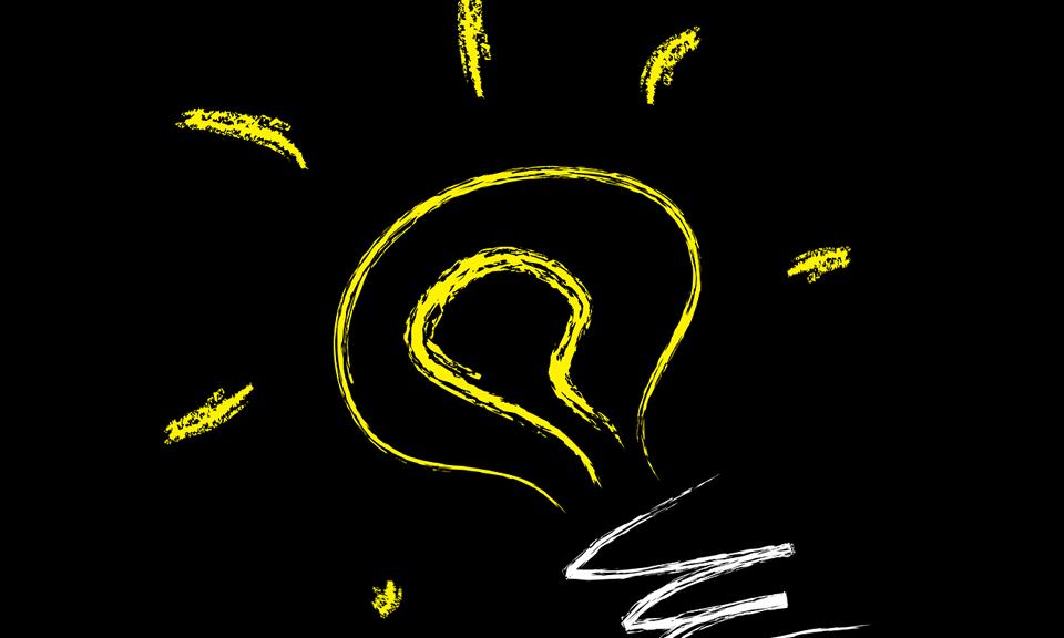 Vector idee lamp
