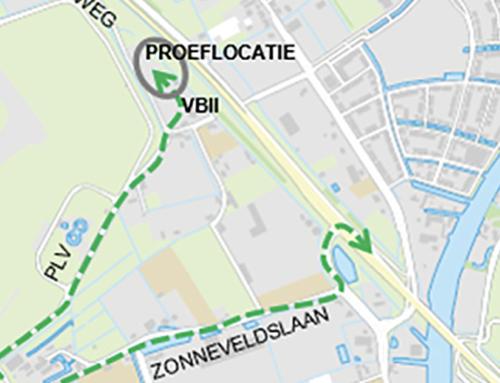 N206 ir. G. Tjalmaweg: zandtransport voor proef met gelinjectie waterdichte bouwkuip