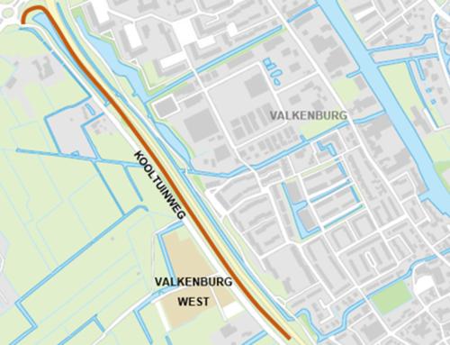 N206 ir. G. Tjalmaweg: Aanleg bouwweg parallel aan Kooltuinweg
