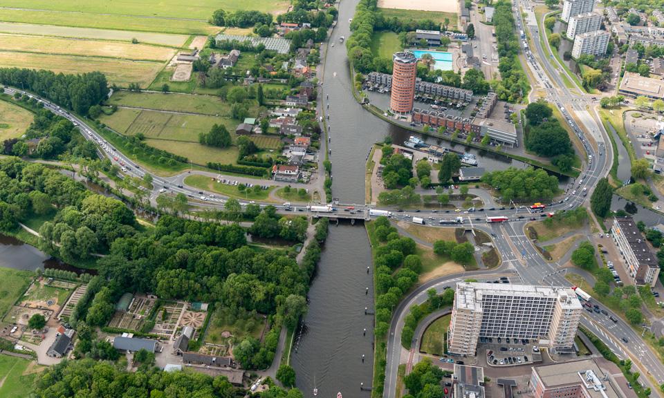 Luchtfoto N206 Europaweg
