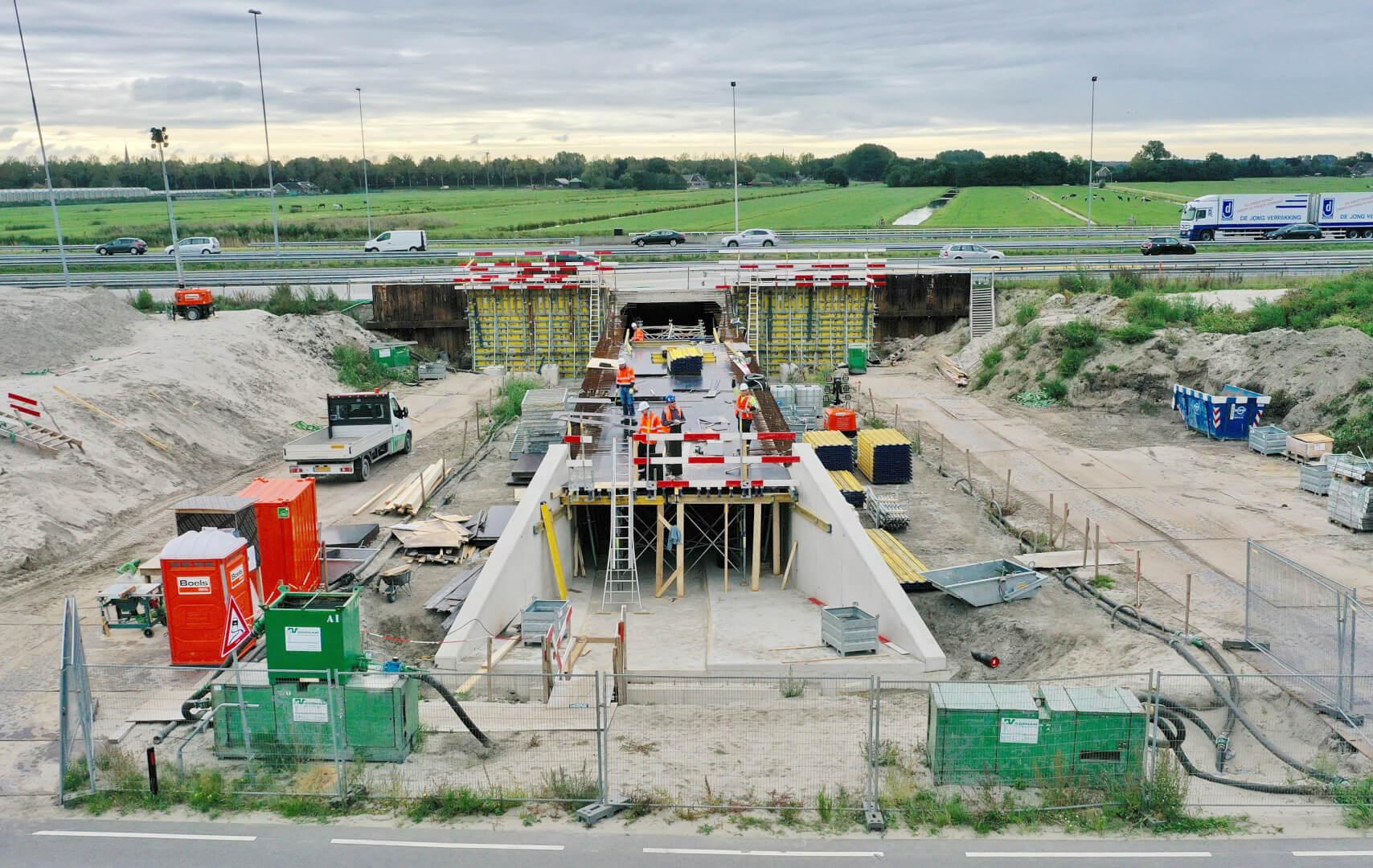 Fietstunnel A4