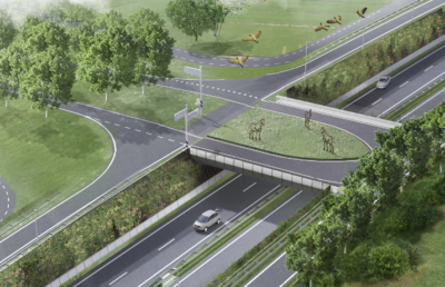 Artist impression Valkenburg-West