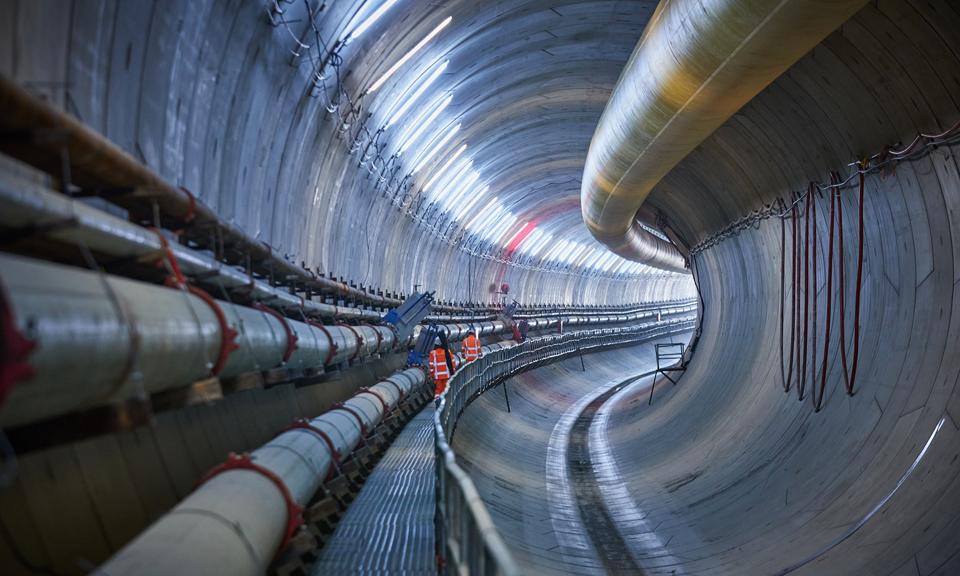 Loopplateau tunnel