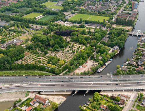 Rhijnhofweg/Voorschoterweg 24/25 september afgesloten bij A44 viaduct