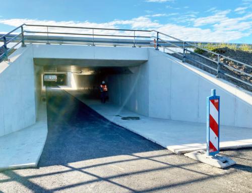 Fietstunnel A4 Hofweg dicht van 18 januari t/m 2april