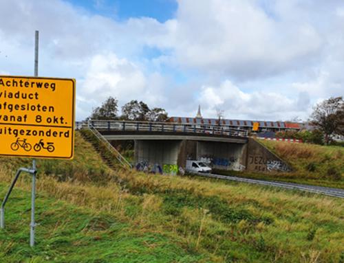 N206 ir. G. Tjalmaweg: afsluiting Achterwegviaduct