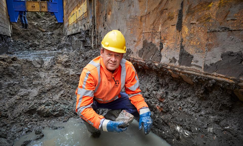 Archeoloog Ivar Schute