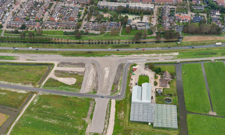 Toekomstige aansluiting Valkenburg-West