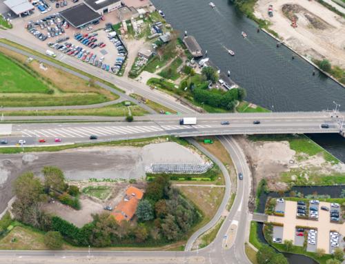 N206 ir. G. Tjalmaweg: luchtfoto's 24 september2020