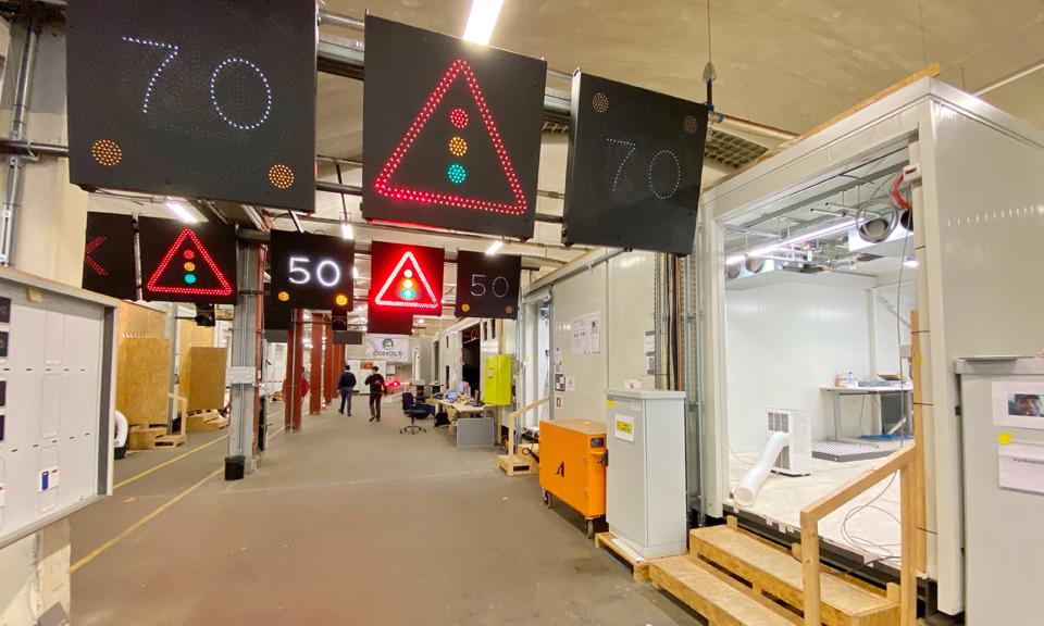 Testruimte tunneltechnische installaties
