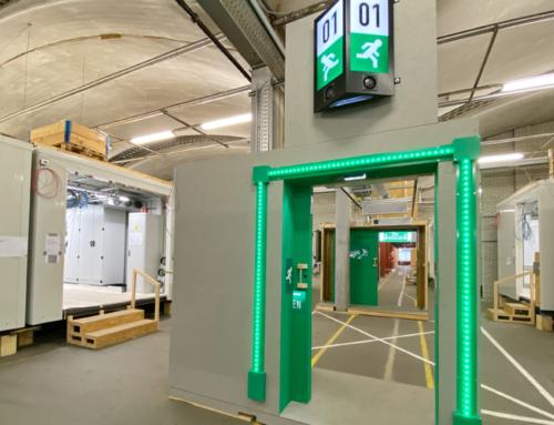 Succesvolle test tunneltechnische installaties