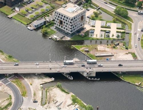 Werkzaamheden voor de bouw van de nieuwe Torenvlietbrug