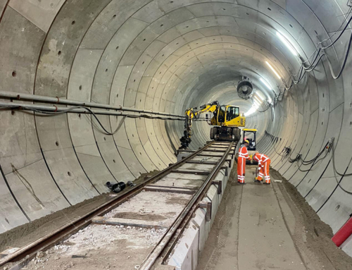 Aanvullen tunnel gestart