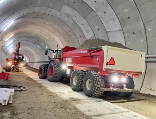 Werk in tunnel hervat