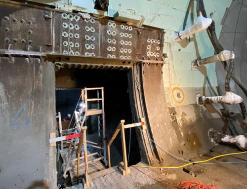 Eerste vluchtdoorgang tunnel uitgegraven