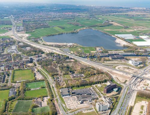 Nieuwe situatie afrit 8 Leiden-West per 24juni