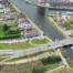 Luchtfoto N206 Europaweg - Lammebrug