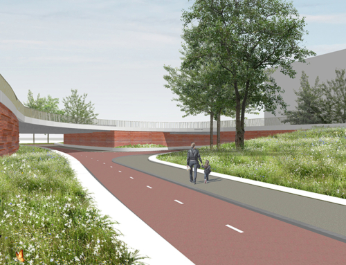 Een kijkje in de vormgeving van de toekomstige Europaweg en het Lammenschansplein