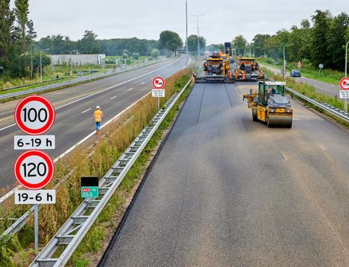 Rijbanen A44 gereed!