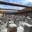 Damwanden en funderingspalen in bouwkuip
