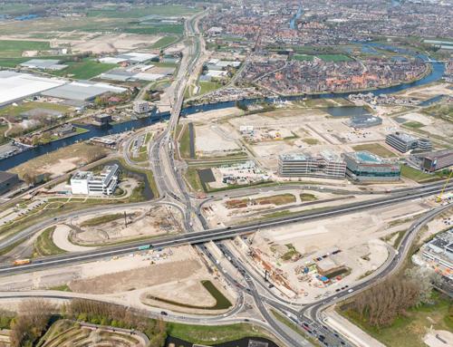 N206 tussen A44 en Katwijk afgesloten weekend 10/11/12 september2021