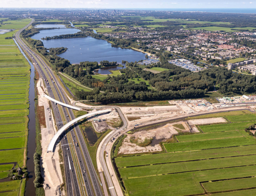 Verkeer richting Vlietland en informatiecentrum opgelet